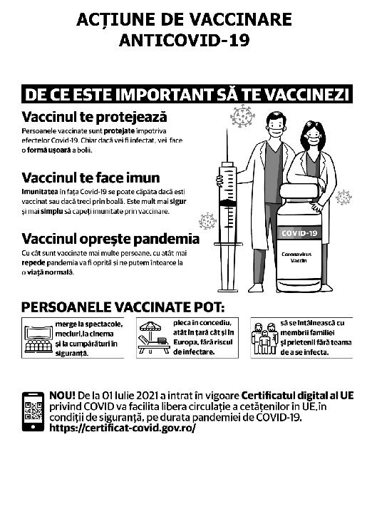 Campania de vaccinare a locuitorilor din mediul rural, ''Oraşul vaccinează satul'' , se derulează şi la nivelul judeţului Prahova