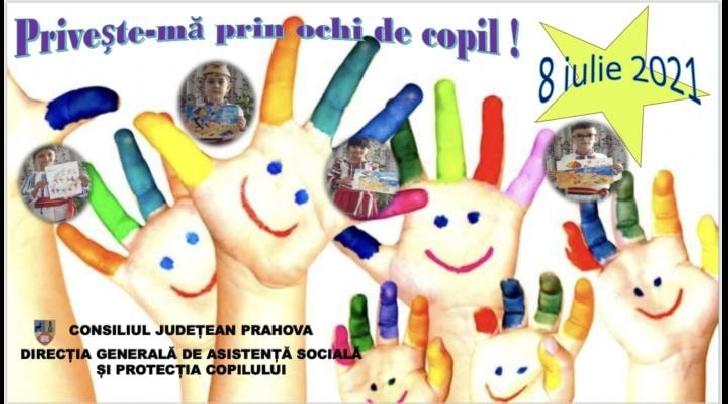 """""""Priveşte-mă prin ochi de copil !"""" , mini-spectacol susţinut de copii şi tineri din cadrul unităţilor de asistenţă socială din structura DGASPC Prahova"""