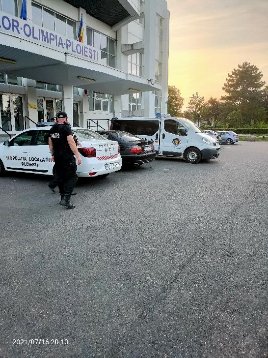 Acţiuni desfăşurate de poliţiştii locali în perioada 16-18 iulie 2021