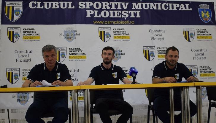 Secţia de baschet a CSM Ploieşti şi-a prezentat planurile privind participarea în Liga Naţională
