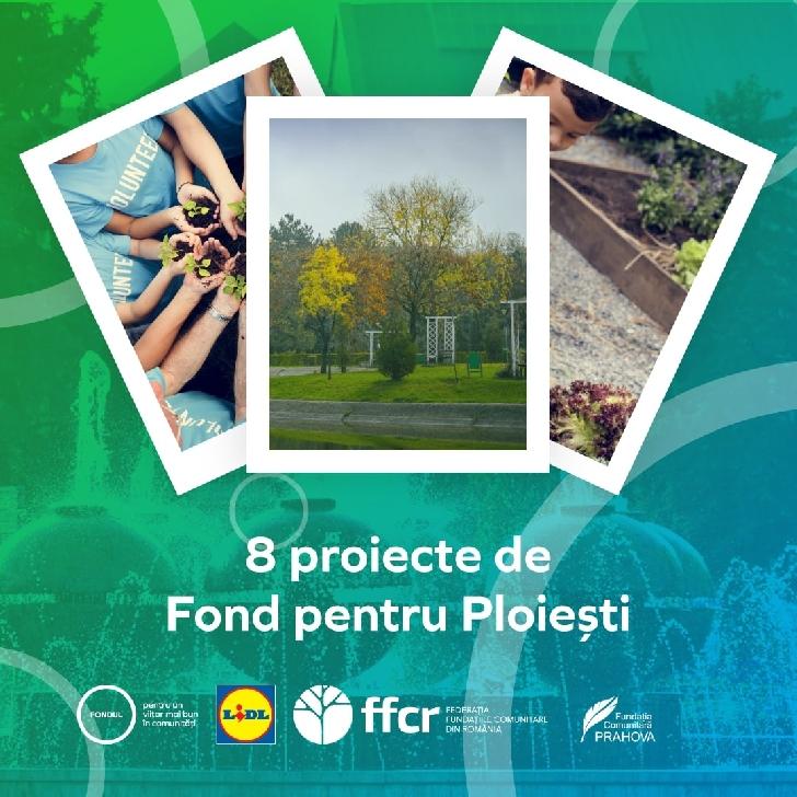 Opt organizaţii şi instituţii de învăţământ preocupate de mediu şi educaţie din Ploieşti sunt finanţate cu 246.000 lei prin intermediul programului Fondul pentru un viitor mai bun în comunităţi
