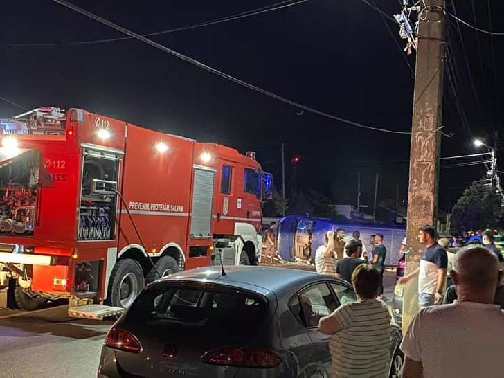 Accident cu trei victime în Mizil