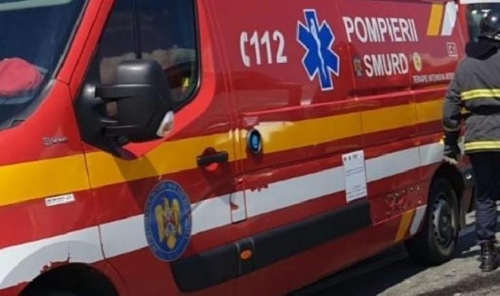Accident rutier pe DN1, la Posada. O persoana a ajuns la spital