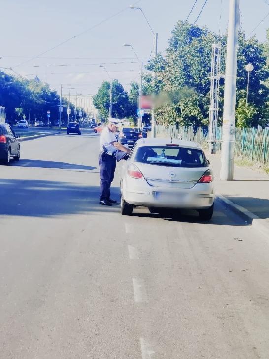 49 de şoferi au fost sancţionaţi în urma unei razii rutiere