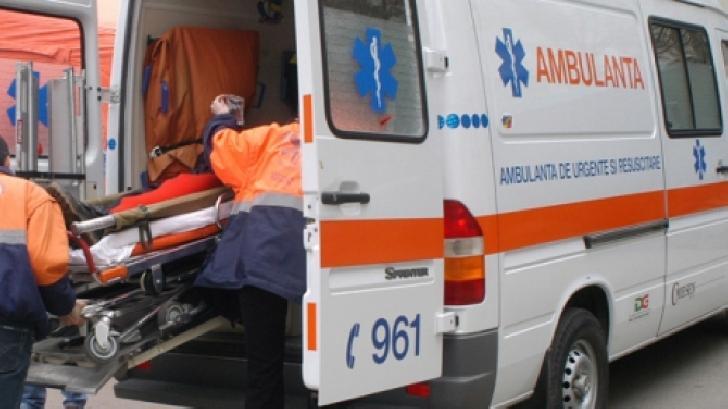 Accident rutier în Ploieşti, la intersecţia George Coşbuc cu Vasile Milea
