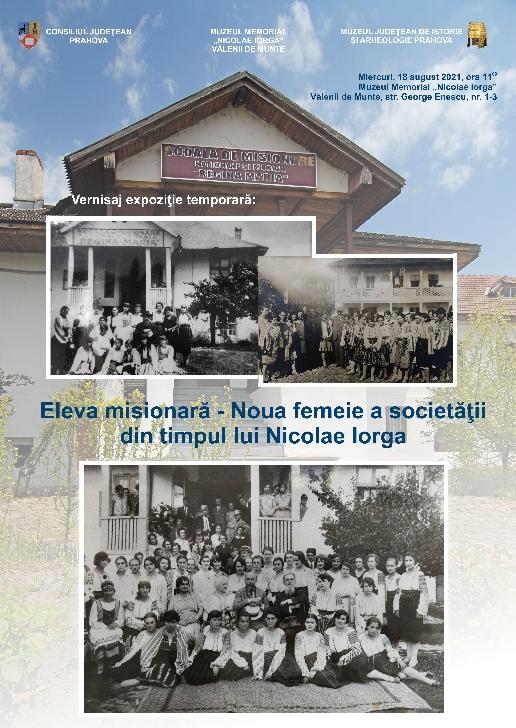Expoziţie temporara la Muzeul Memorial Nicolae Iorga Vălenii de Munte