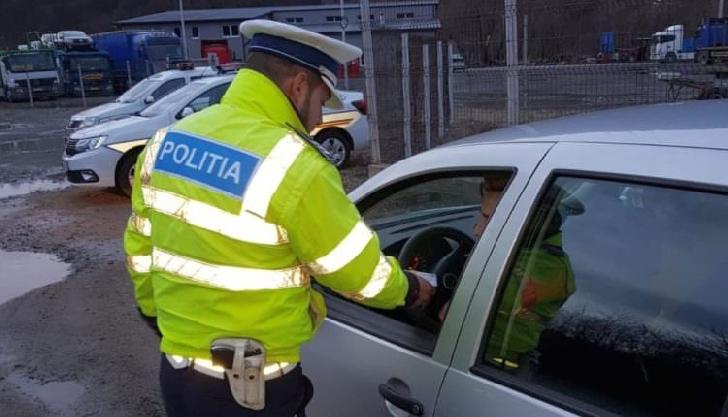 Un şofer beat a fost prins noaptea trecută de poliţiştii ploieşteni