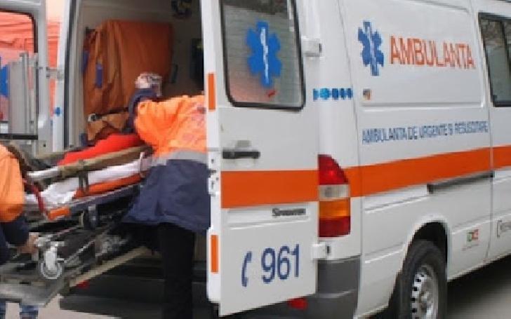 Accident la Buşteni. Două persoane au ajuns la spital