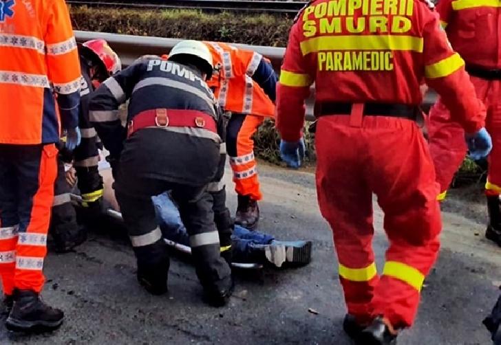 Accident rutier la Nistoresti. Un copil în vârstă de 8 ani, a fost transportat la spital