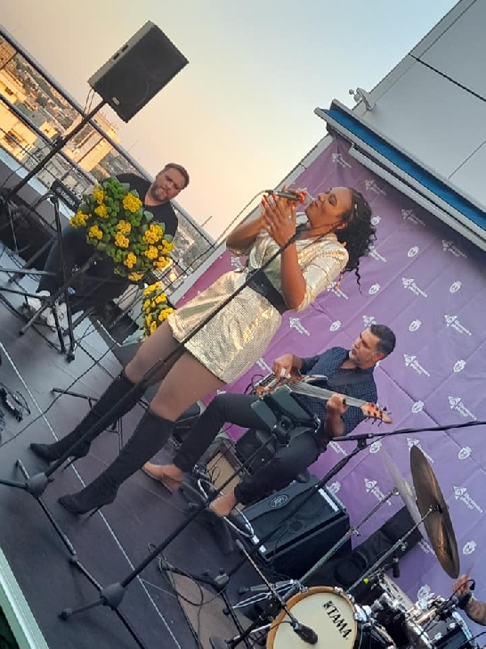 A inceput  Jazz on the Rooftop, editia a 4 a.Foto si video