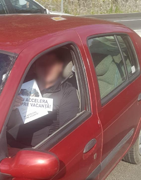 NU ACCELERA SPRE VACANŢĂ .Campanie de conştientizare a riscului vitezei excesive.Foto si video