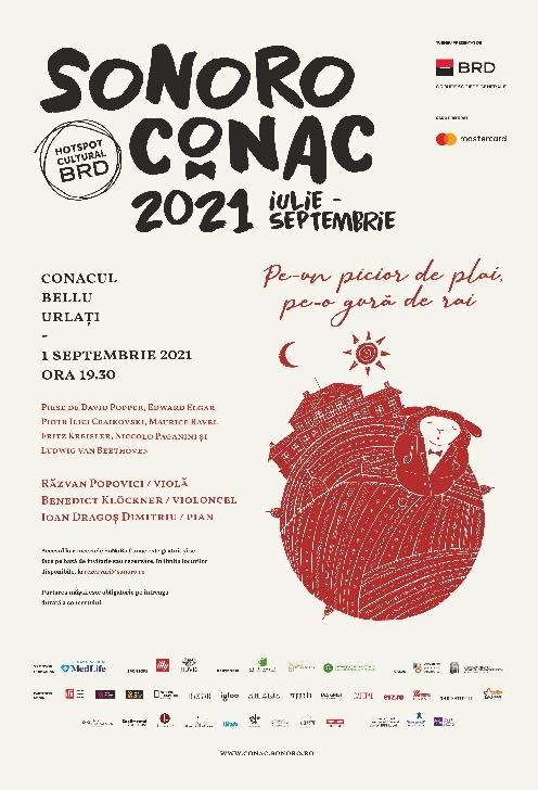Turneul SoNoRo Conac IX continuă cu două concerte la Casinoul Sinaia şi Conacul Bellu din Urlaţi