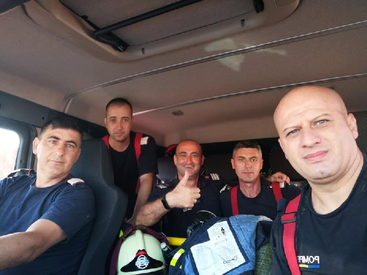 Pompieri prahoveni au fost avansaţi la gradul militar următor, dupa misiunea din Grecia