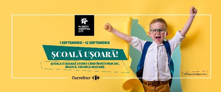 Şcoala devine mai uşoară, în noua campanie online cu premii zilnice de la Ploieşti Shopping City