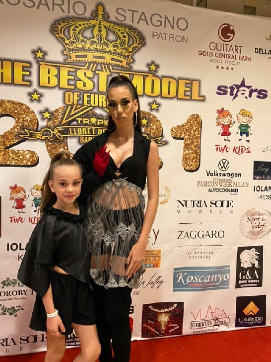 Ploieşteanca Roberta Popescu a obţinut titlul de Angel of EUROPE la BEST MODEL EUROPE KIDS GIRLS 2021 (foto-video)