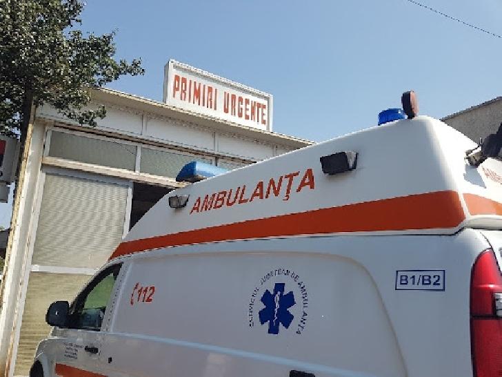 Accident rutier în satul Româneşti. Două persoane au ajuns la spital