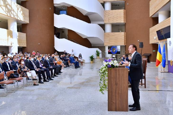 A fost inaugurat  Palatul de Justiţie Prahova. Prim ministru  Romaniei a fost prezent. (video)