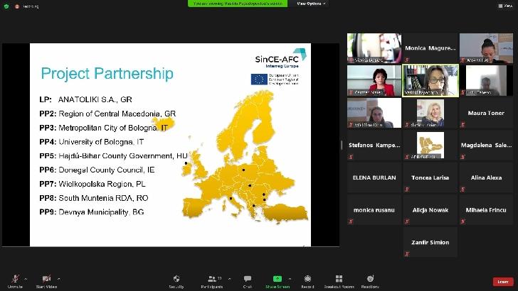 Import Workshop organizat de ADR Sud Muntenia în cadrul proiectului SinCE-AFC