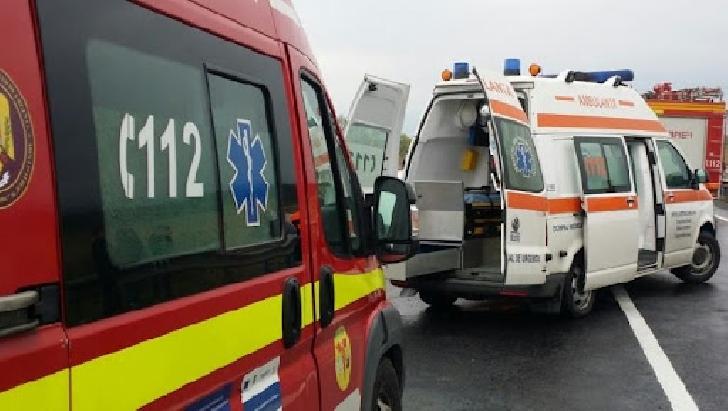 Accident rutier la Nistoresti. Două persoane au ajuns la spital