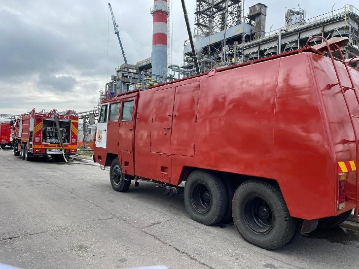 Incendiu la Rafinăria Lukoil din Ploieşti.A fost emis mesaj RO-Alert
