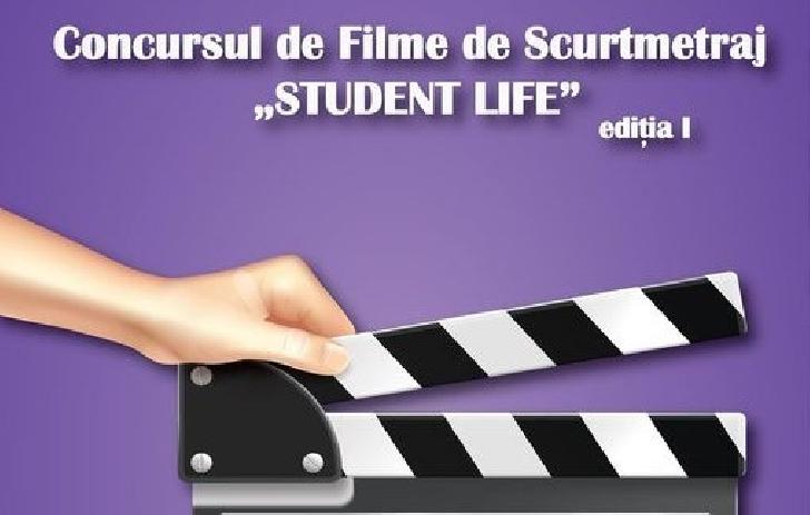 """CASA DE CULTURĂ A STUDENŢILOR PLOIEŞTI organizează Concursul  de Filme de Scurtmetraj """"STUDENT LIFE"""" - ediţia I"""