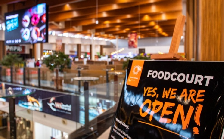 Intrarea în zona de food-court din mall-uri se va face doar cu certificatul Covid 19