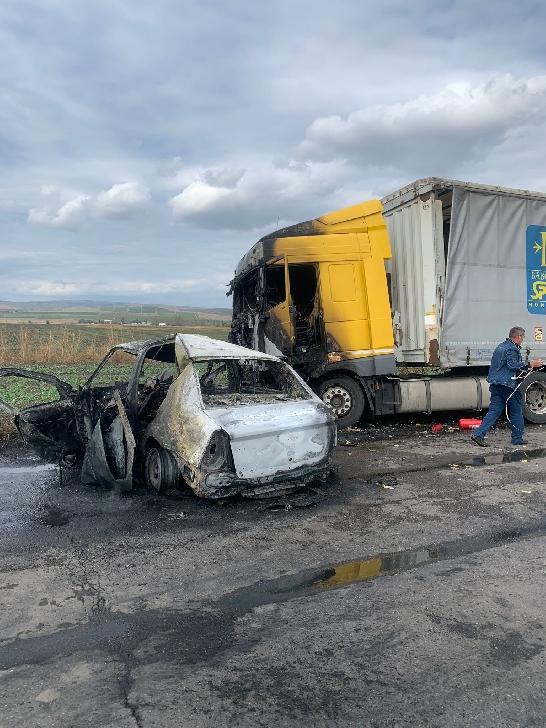 Accident rutier tragic la ieşirea din Mizil spre Săhăteni. Un bărbat a decedat. (Video)
