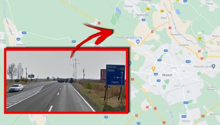 Un nou sens giratoriu va aparea pe DN1, în zona localitatii Păuleşti