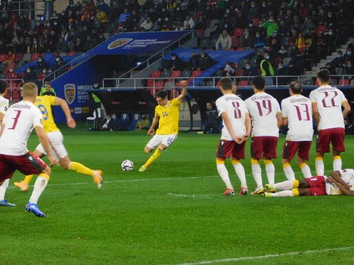 România – Armenia 1-0,  in preliminariile Cupei Mondiale. Tricolorii au devenit favoriti la baraj