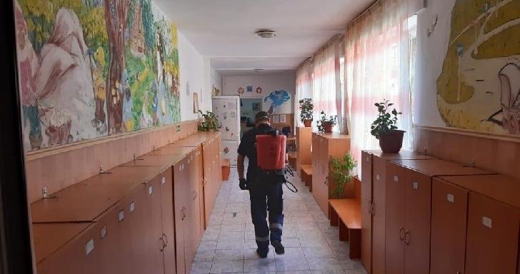 Unităţile de învăţământ din Ploieşti vor fi dezinfectate de două ori pe săptămână